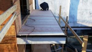 new vinyl deck