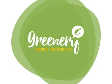 """""""Greenery"""" color of the year 2017 logo"""