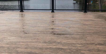 flooring over deck boards