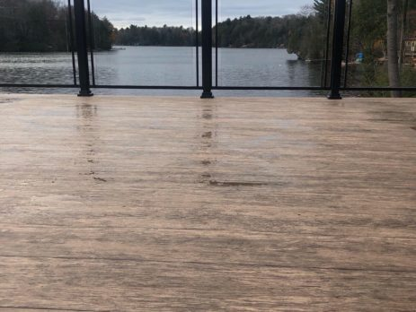 flooring over deck boards