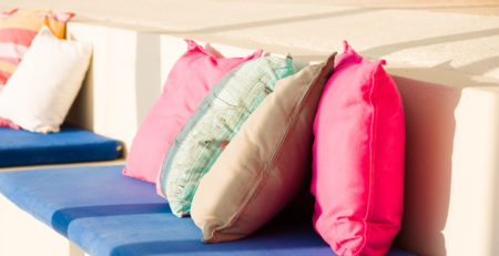 Luxury Outdoor Patio Pillows - Tufdek