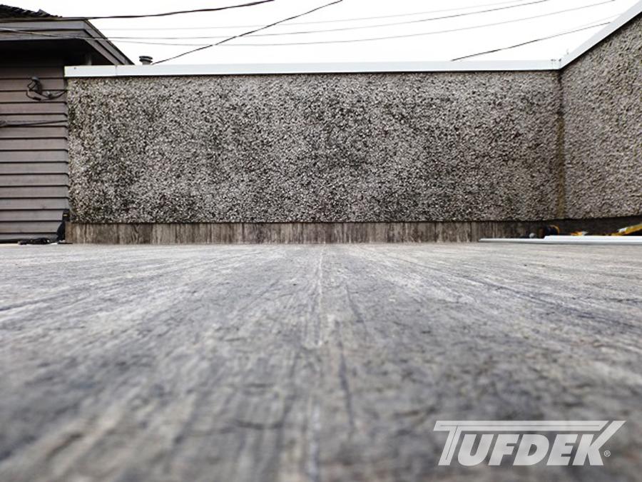Tufdek Rustic Plank | Recessed Seam