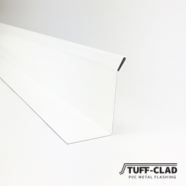 Tuff-Clad PVC Coated Wall Flashing For Vinyl Decks