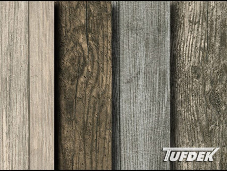 Tufdek Designer Wood Plank Decking