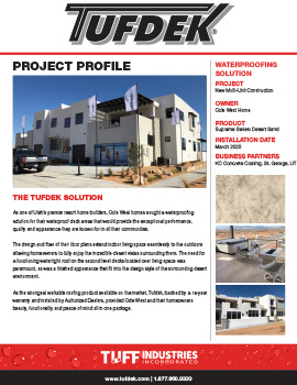 Project Profile - Cole West Homes