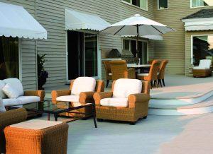 deck patio makeover vinyl membrane