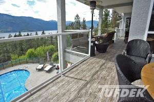 adding a roof over a vinyl deck