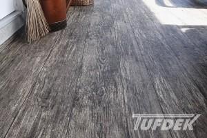 new vinyl deck renovation