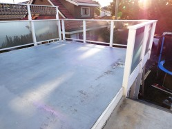 vinyl deck maintenance spring