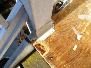 safety vinyl deck collapse