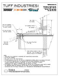 TD-02-A-Deck Edge with Tuff-Clad