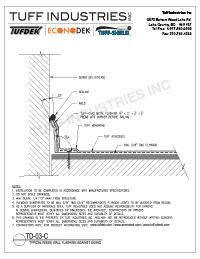 TD-03-C-Wall Flashing on Existing Siding