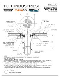 TD-14-Tuff-Seal Deck Drain
