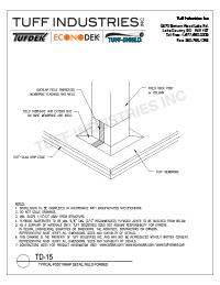 TD-15- Post Wrap Detail Field Formed Model (1)
