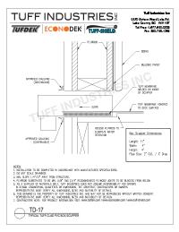 TD-17-Tuff-Seal PVC Box Scupper