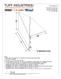TD-20-Metal Diverter