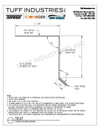 TD-27-Tuff Clad Deck Edge Drip Flashing