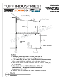 TD-30 Tarping Directions
