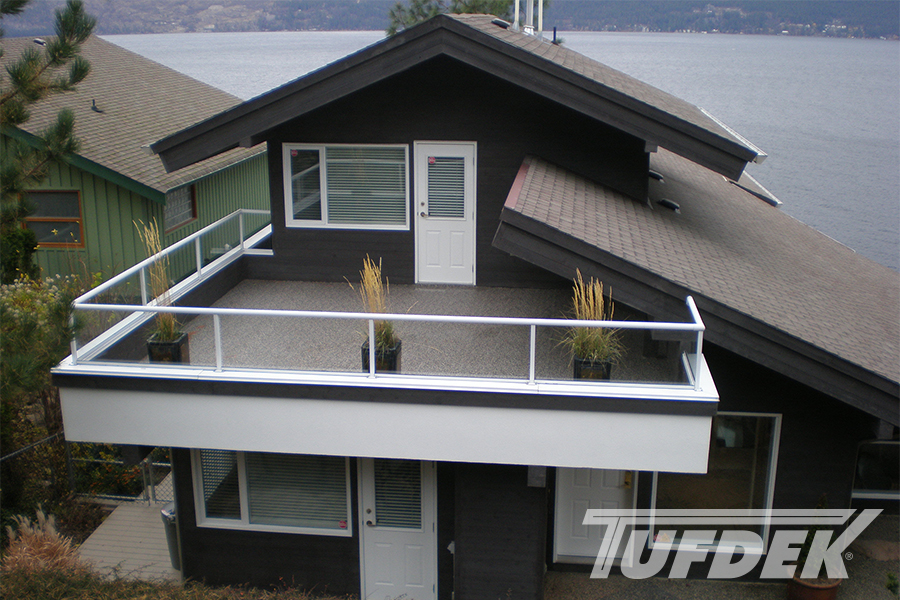 Tufdek residential waterproof vinyl decking photo gallery for Sustainable decking