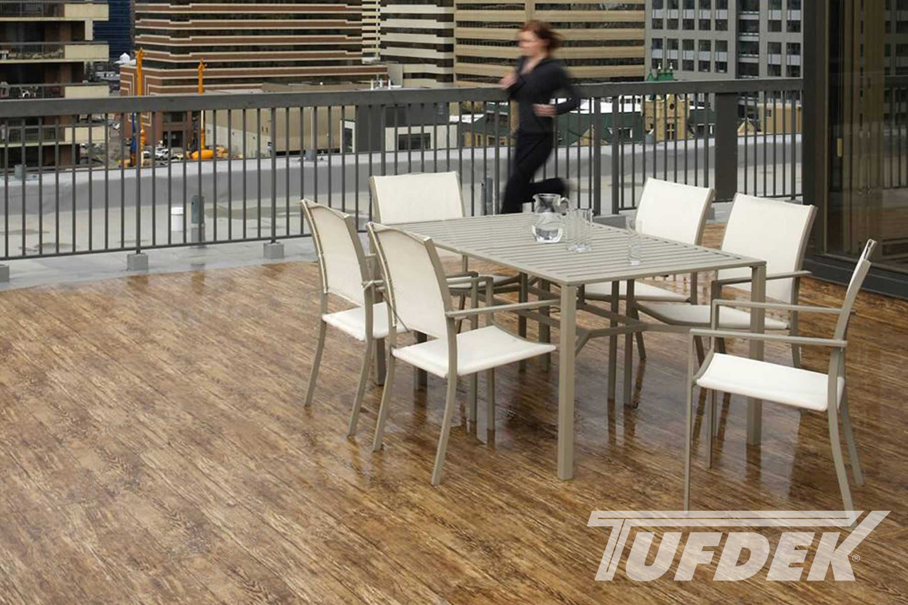 Commercial Waterproof Vinyl Deck Photo Gallery By Tufdek