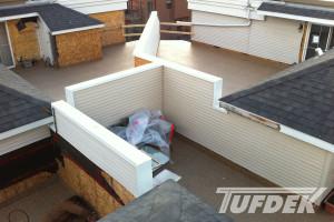 vinyl roof deck