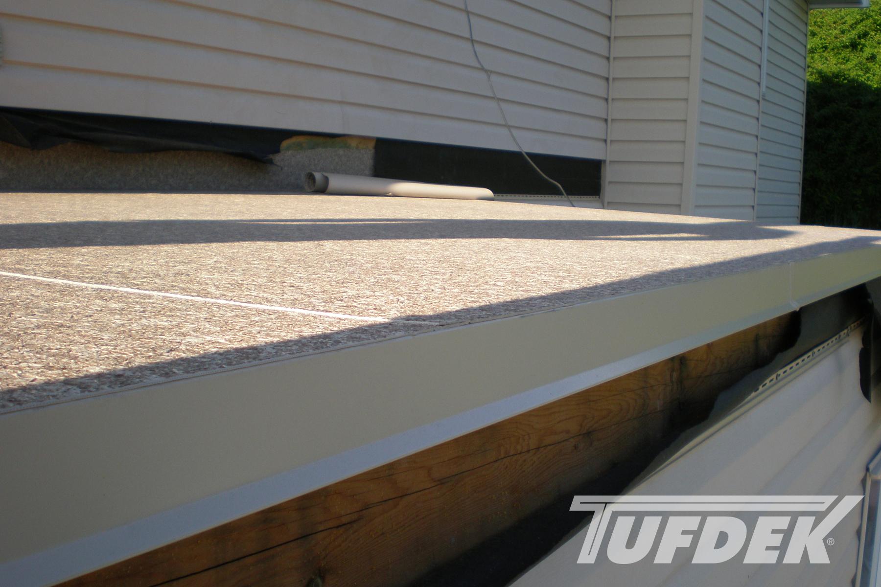 Waterproof Vinyl Decking Photos Installation Details