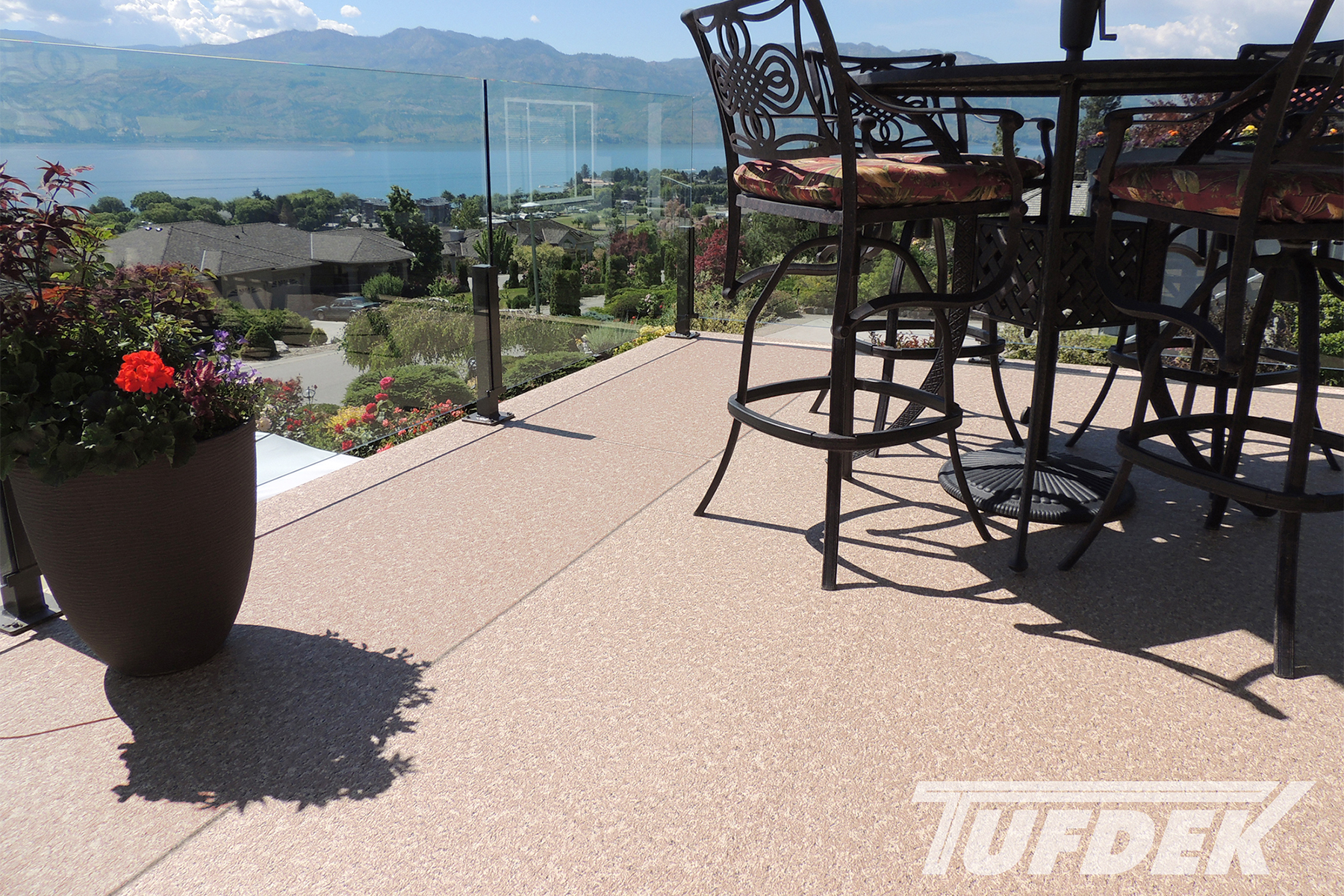 Ordinary Exterior Vinyl Flooring #13: Tufdek Vinyl Deck Waterproofing And Flooring Products