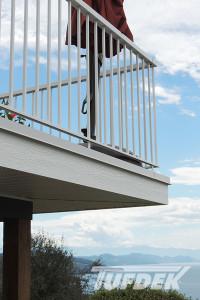 tufdek vinyl deck railing