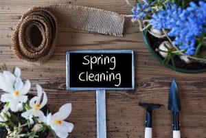 tips spring cleaning vinyl membrane