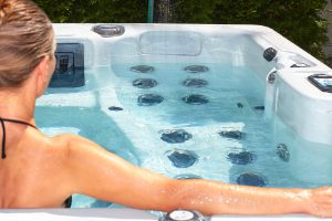 tips for vinyl deck hot tub