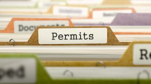 building permit for vinyl deck