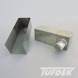 Aluminum Box Scupper for Tufdek PVC Membrane Systems