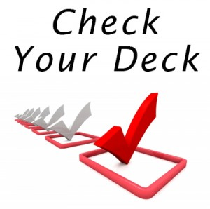 check vinyl deck safety