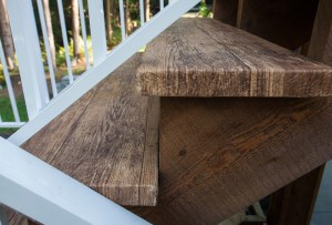 stairs for vinyl decks