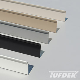 Tuff-Clad PVC Coated Easy Weld Deck Flashing