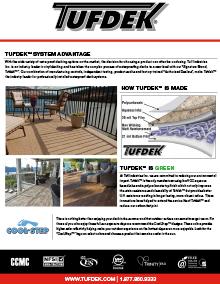 Tufdek ™ Advantage Brochure