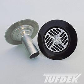Tuff-Seal PVC Coated Vinyl Deck Drains