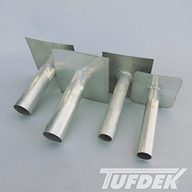 Tuff-Seal Tig Welded Overflow Vinyl Deck Drains