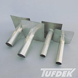 Tuff-Seal Tig Welded Overflow Vinyl Deck Drains