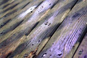 paint wood deck or vinyl decking